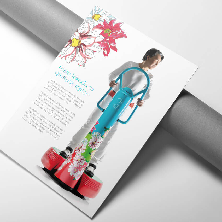 brochure Kenzo
